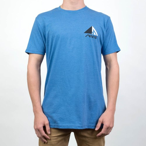 nNivis elevate t shirt light blue