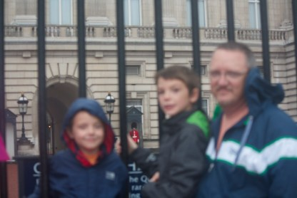 My boys are blurry but the Palace Guard is sharp!