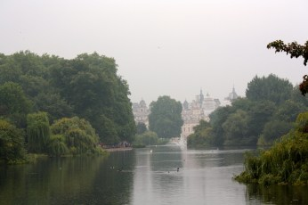 A view from St. James Park