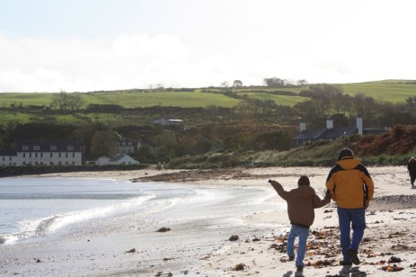 Walk on the beach