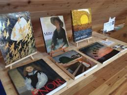 詩と美術館 田中オーナーの本たち