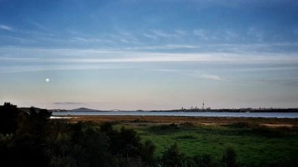 Auckland City from Te Atatu Peninsula