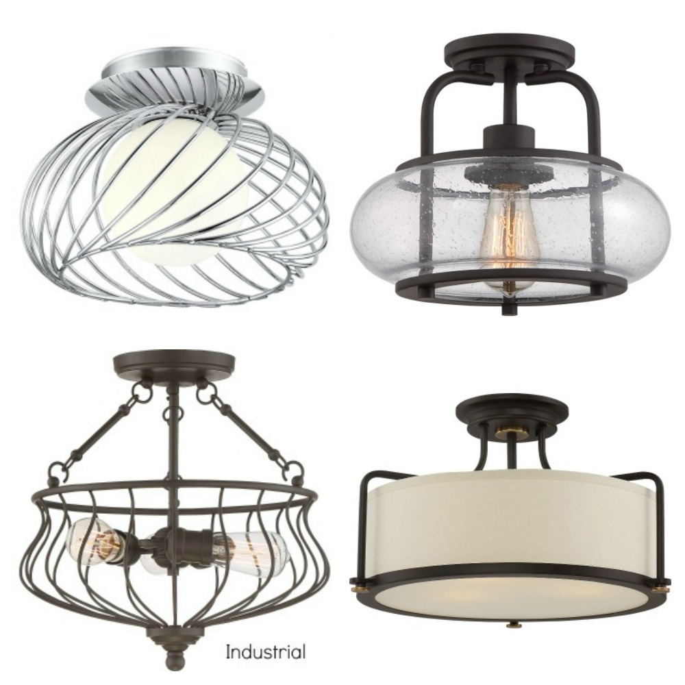 Affordable and Stylish Semi Flush Mount light Fixtures