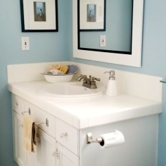 Kitchen Light Fixtures Flush Mount Plans Coastal Inspired Bathroom In Summer Shower By Benjamin Moore