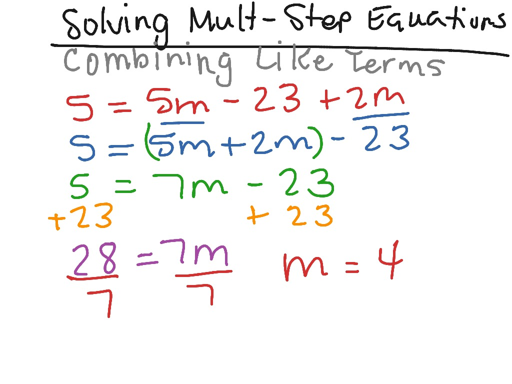 Problem Solving Multiple Step Problems 11 7 Answers
