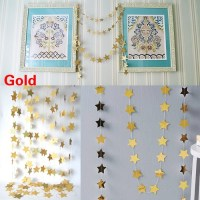 4M Cardboard Stars Hanging Ornaments Christmas Tree ...