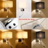 Modern LED Cloth Wall Lamp Wall sconce Light Hallway ...