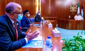 President Buhari receives briefing from Presidential Task Force on COVID-19
