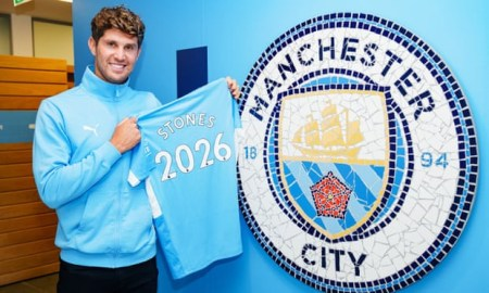 John Stones signs fresh five-year deal at Manchester City