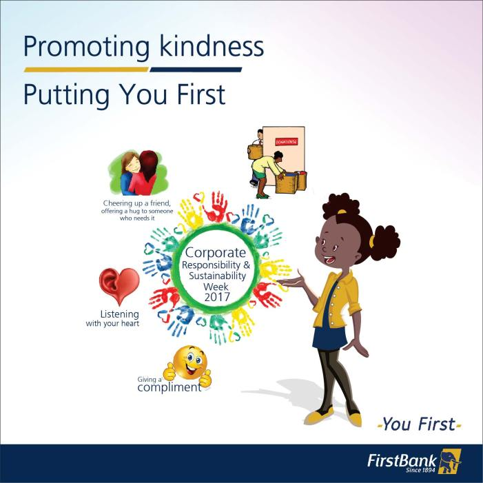 FirstBank Celebrates Corporate Responsibility and Sustainability Week: Promoting Random Acts of Kindness