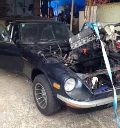 240z s30 s30z l24 l28 l31 engine swap [ 3264 x 2448 Pixel ]