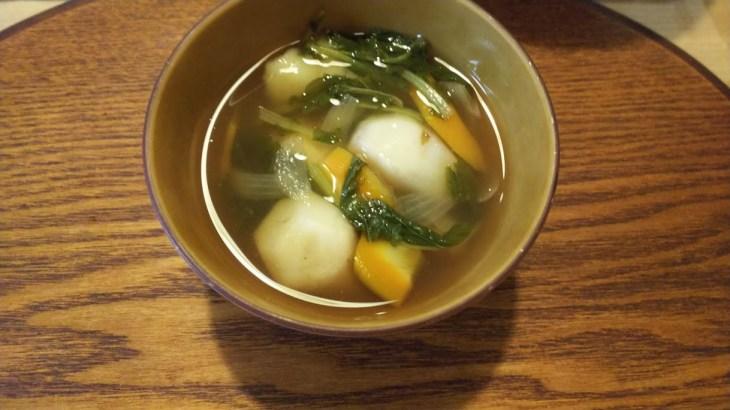 里芋を少し収穫してみた~早どりした里芋で作るすいとん汁!里芋は採りたてに限る!