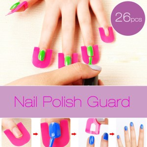 26Pc-Nail-Polish-Shield-Clip-French-Nail-Art-Manicure-Stickers-Tips-Finger-Cover-Protector-Plastic-Case_1