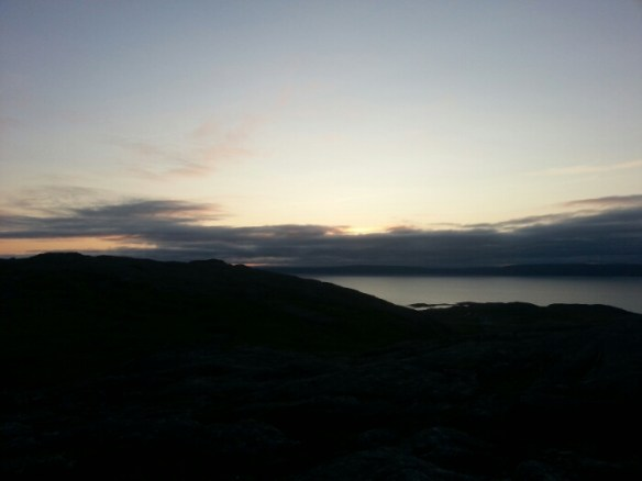Fjellet over Bygøynes