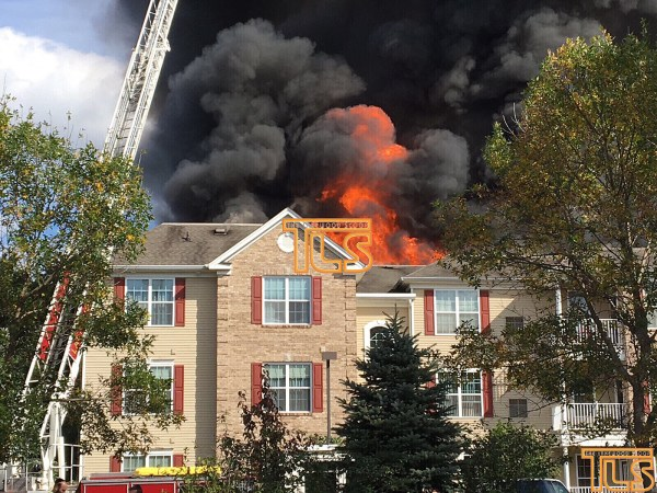 Fire Engulfs Apartment In Lakewood Senior Development