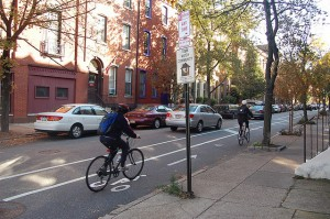 buffered bike lane philadelphia