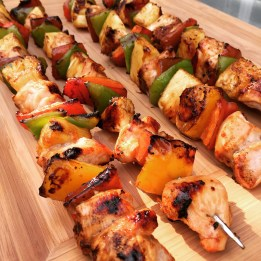 Pineapple Chicken Teriyaki Kabobs