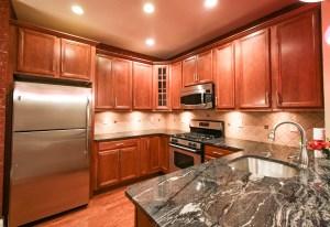 Kitchen area photo