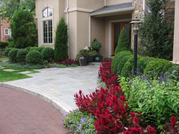 beautiful landscaping & gardens