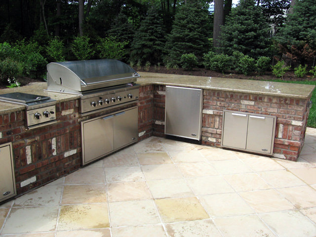 Outdoor Kitchen  BBQ Design  Installation Bergen County NJ