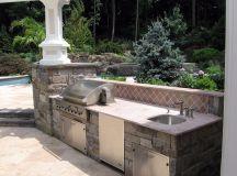 Outdoor Kitchen & BBQ Design & Installation Bergen County NJ