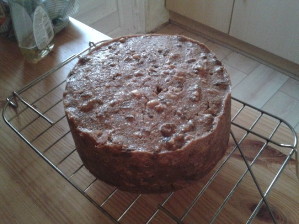 Celebration Spelt Flour Fruit Cake Recipe