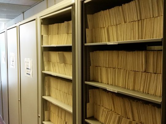 Birth records for adoptees at the Office of Vital Statistics and Registry in Trenton. (NJ Department of Health.)