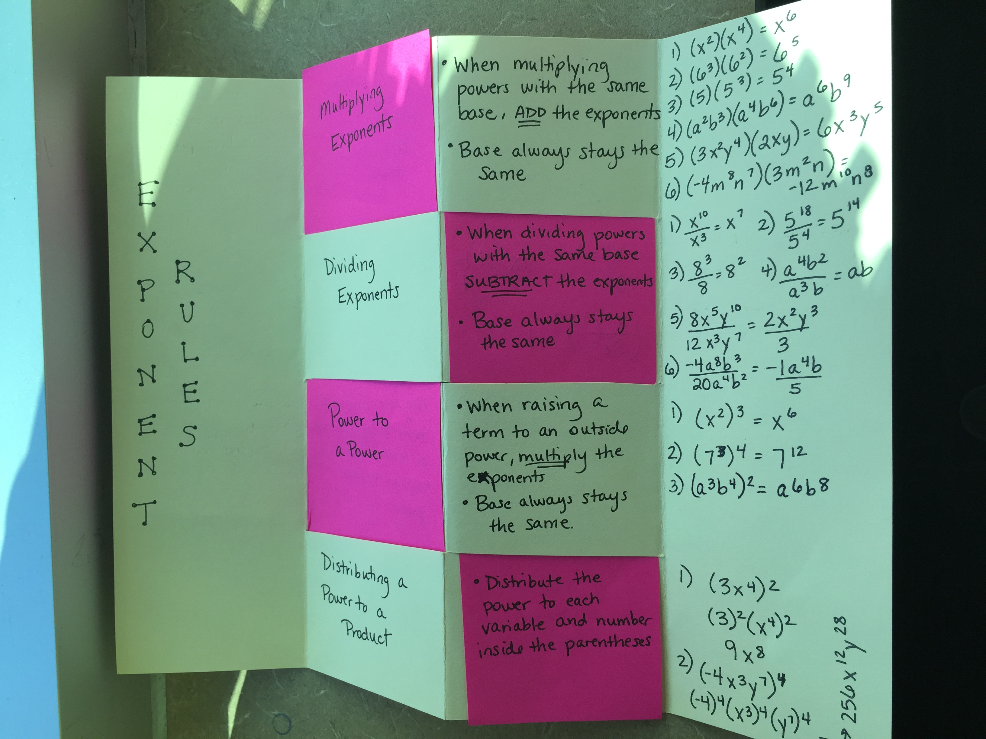 Unit 2 Exponents And Scientific Notation