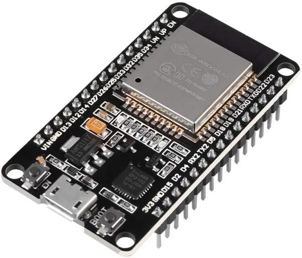 P/N: 31-2021 ESP-32 Microcontroller Processor Integrated Chip CP2102 - 30 Pins. Com modulo WiFi