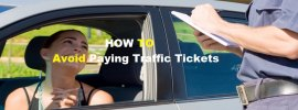 how to avoid paying traffc tickets