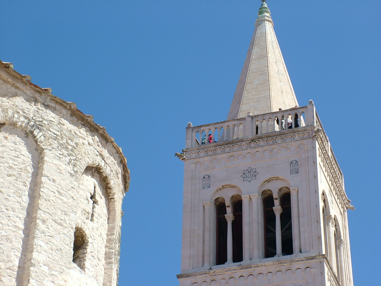 Zadar's old and not-so-old churches