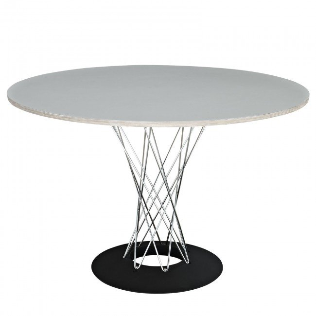 noguchi cyclone wire base dining table