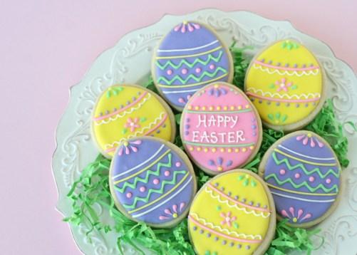 Pretty-Easter-Egg-Cookies