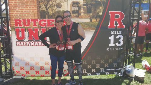 dave and lilly half marathon