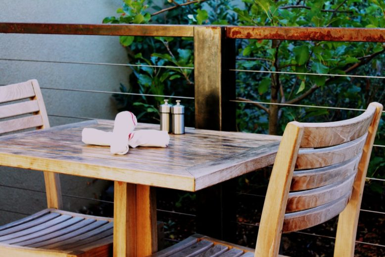 for outdoor dining
