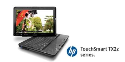 HP TouchSmart tx2z