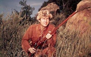Fess Parker as Davy Crockett