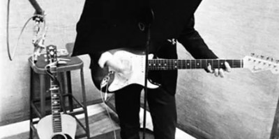 Bob Dylan recording at Columbia Studio A