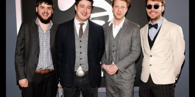 Mumford and Sons win Grammys 2
