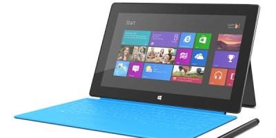 Surface Pro cyan