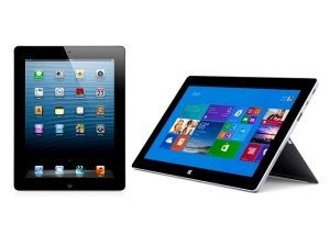 iPad 4 versus Surface 2