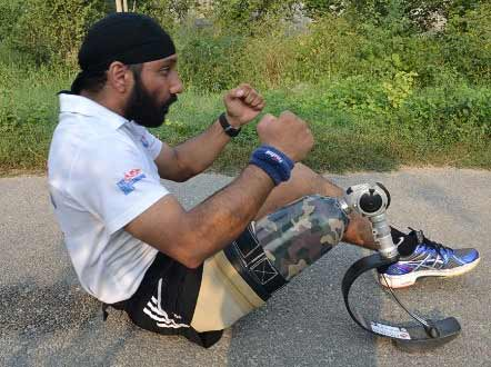 """Devender Pal Singh, 39, dubbed as India's """"blade runner"""""""