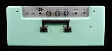 Fender Vaporizer Top Green New Fender Vaporizer Amp Preview photo