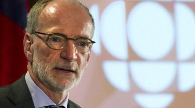 Hubert Lacroix CBC President