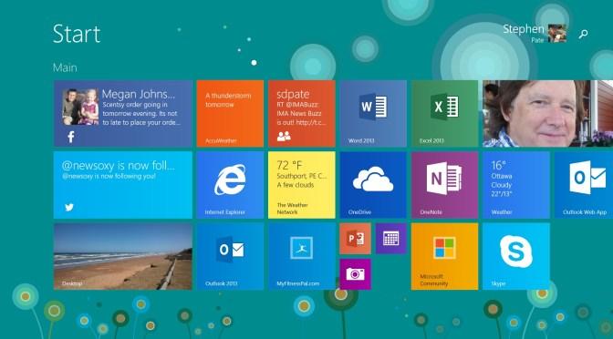 Windows RT on Surface 2
