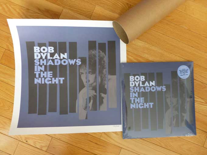 Bob Dylan Shadows in the Night Vinyl plus Lithograph