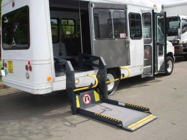 Ricon wheelchair lift for buses