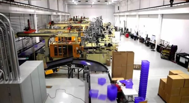 Internet of Things in automated materials handling and robotics