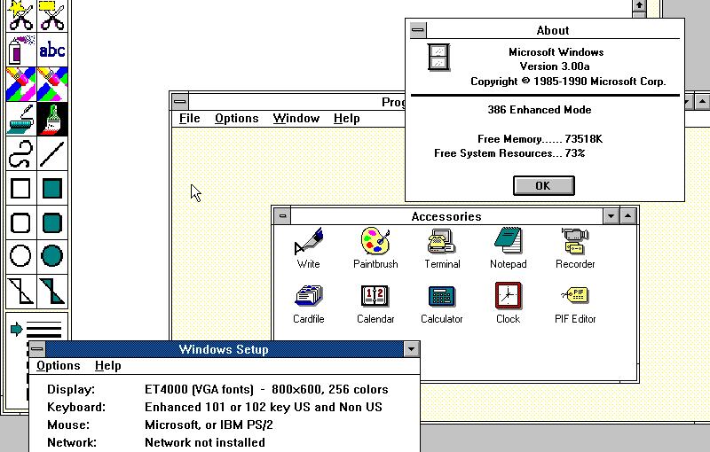 Windows 30