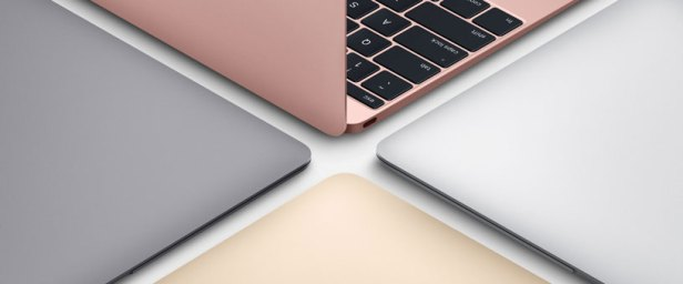 MacBook Retina 2016 comes in silver, gold, space grey and rose gold  (Apple)